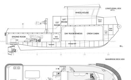 14 mt. Multipurpose Tug Boat